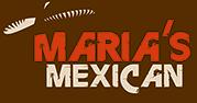 Restaurant Maria's Mexican Schladmind Logo
